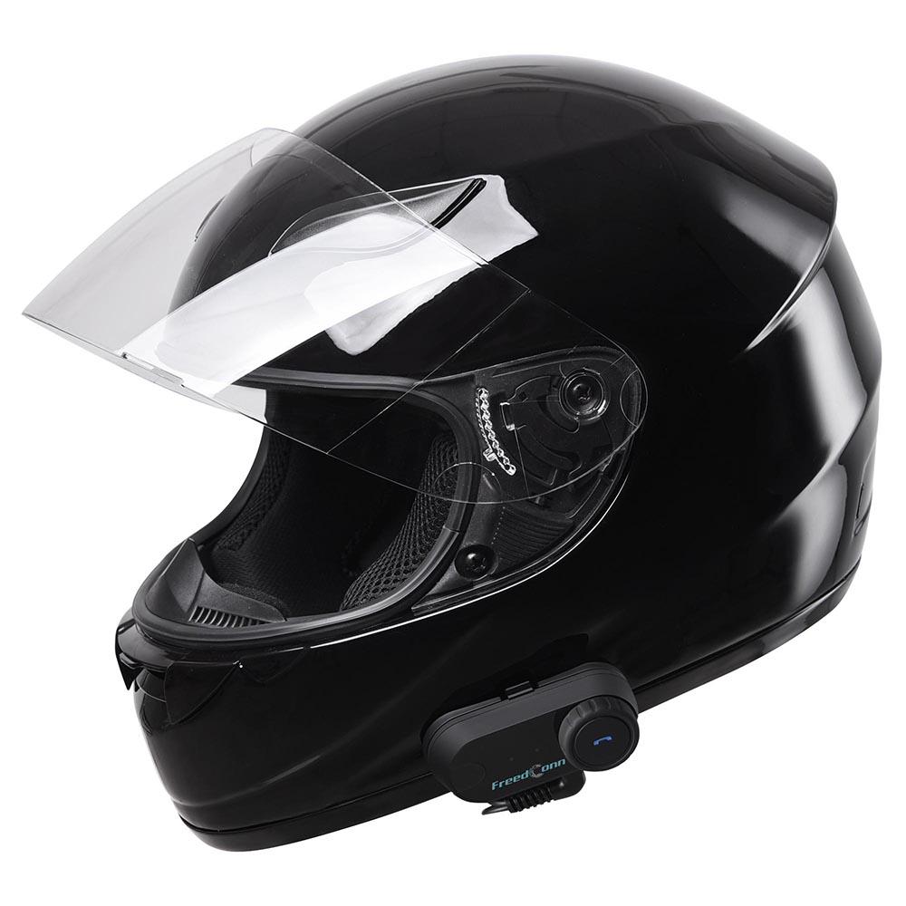 DOT-Motorcycle-Full-Face-Adult-Helmet-Size-M-XL-w-Bluetooth-Wireless-Headset thumbnail 26