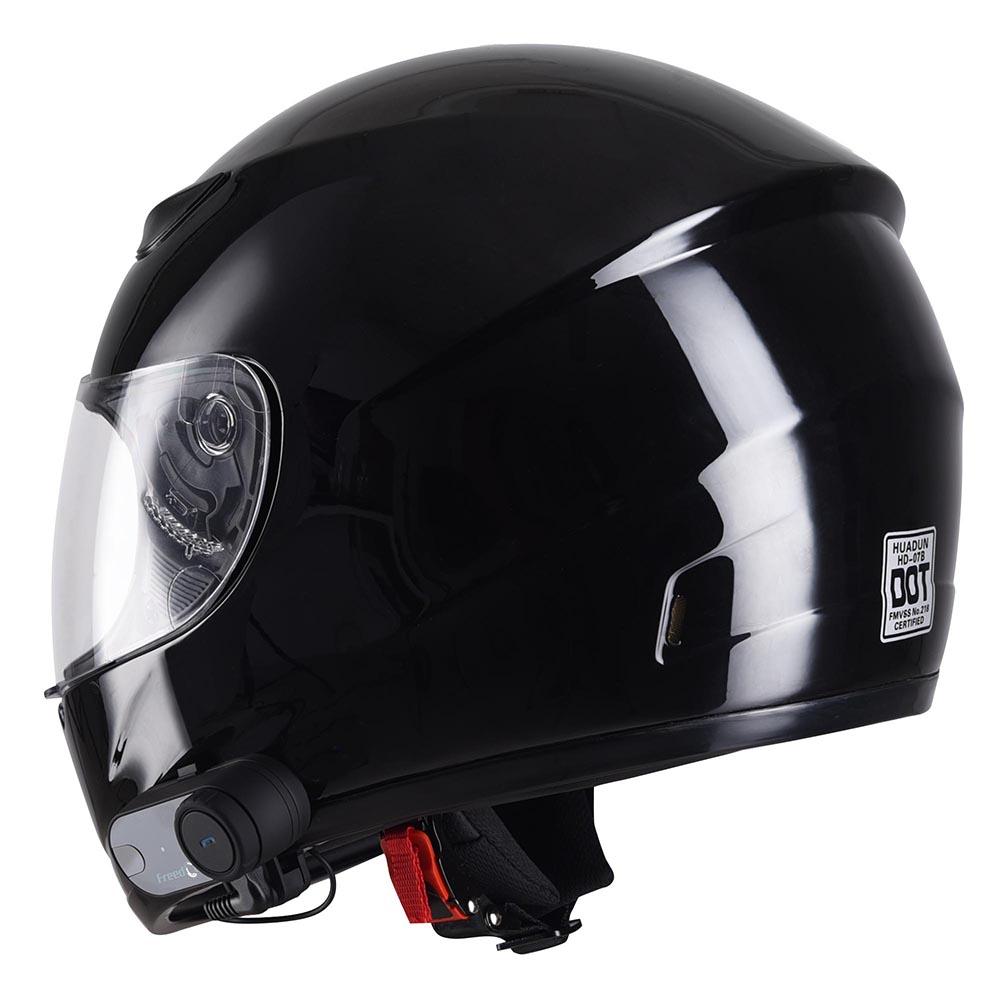 DOT-Motorcycle-Full-Face-Adult-Helmet-Size-M-XL-w-Bluetooth-Wireless-Headset thumbnail 27