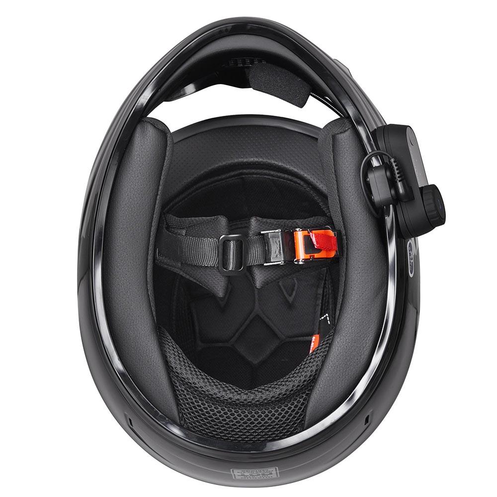 DOT-Motorcycle-Full-Face-Adult-Helmet-Size-M-XL-w-Bluetooth-Wireless-Headset thumbnail 28