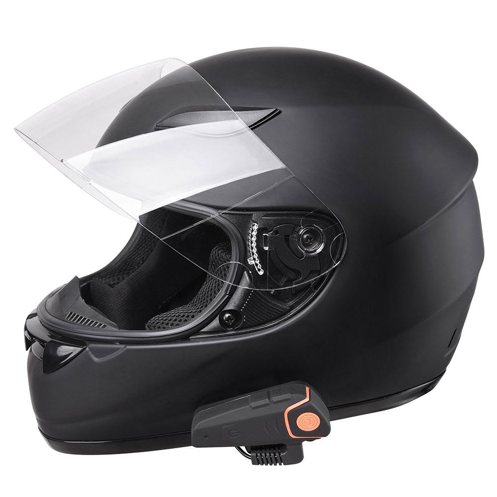 DOT-Motorcycle-Full-Face-Adult-Helmet-Size-M-XL-w-Bluetooth-Wireless-Headset thumbnail 54