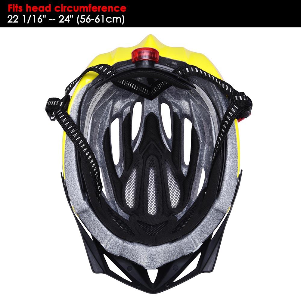 Bicycle-Helmet-Bike-Cycling-Adult-Adjustable-Safety-Helmet-Visor-LED-Light-Sport thumbnail 53