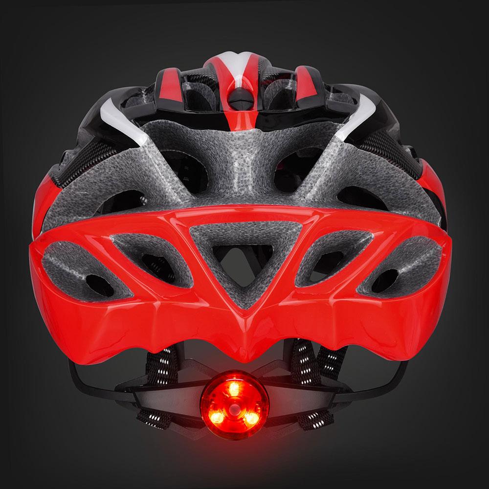 Bicycle-Helmet-Bike-Cycling-Adult-Adjustable-Safety-Helmet-Visor-LED-Light-Sport thumbnail 47