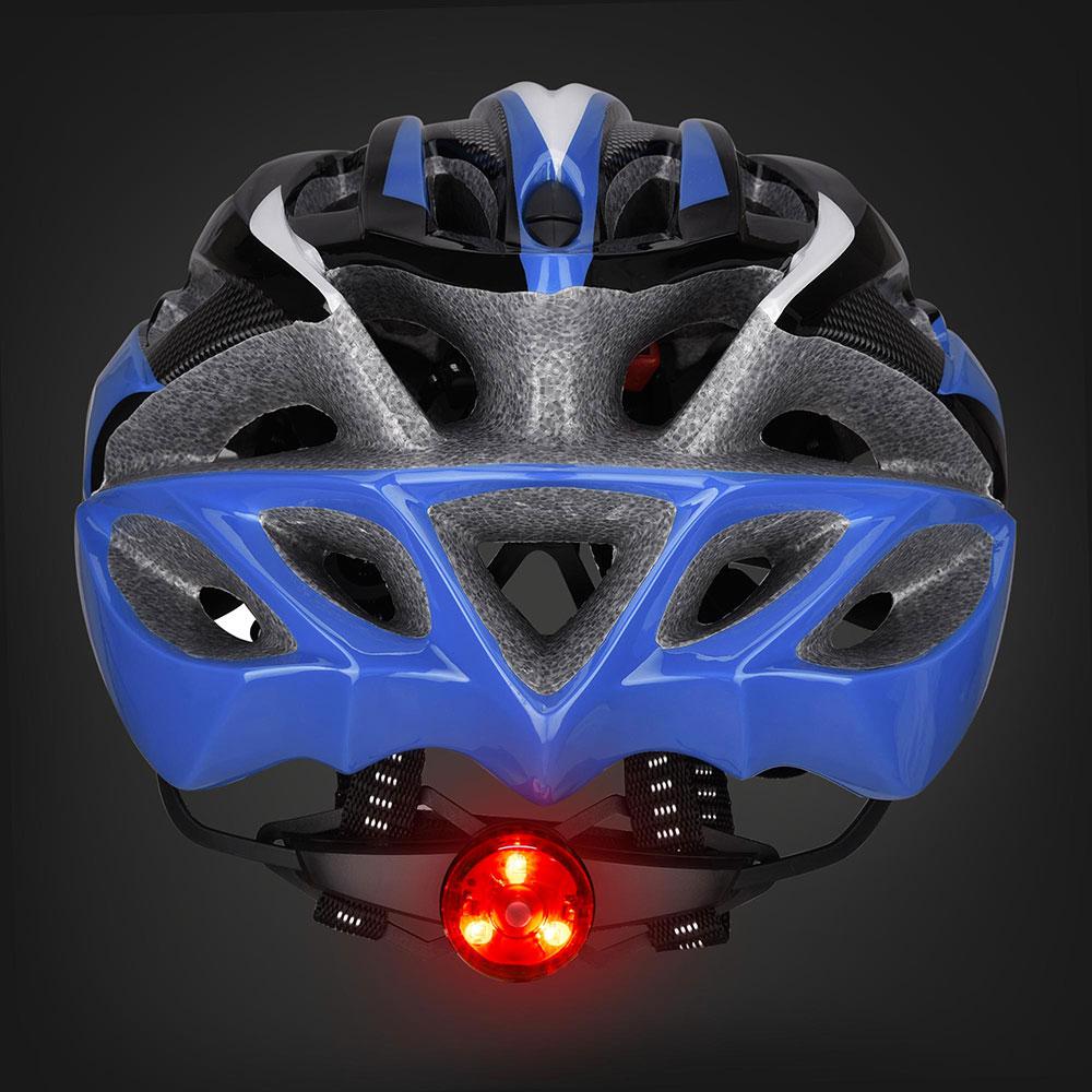 Bicycle-Helmet-Bike-Cycling-Adult-Adjustable-Safety-Helmet-Visor-LED-Light-Sport thumbnail 20