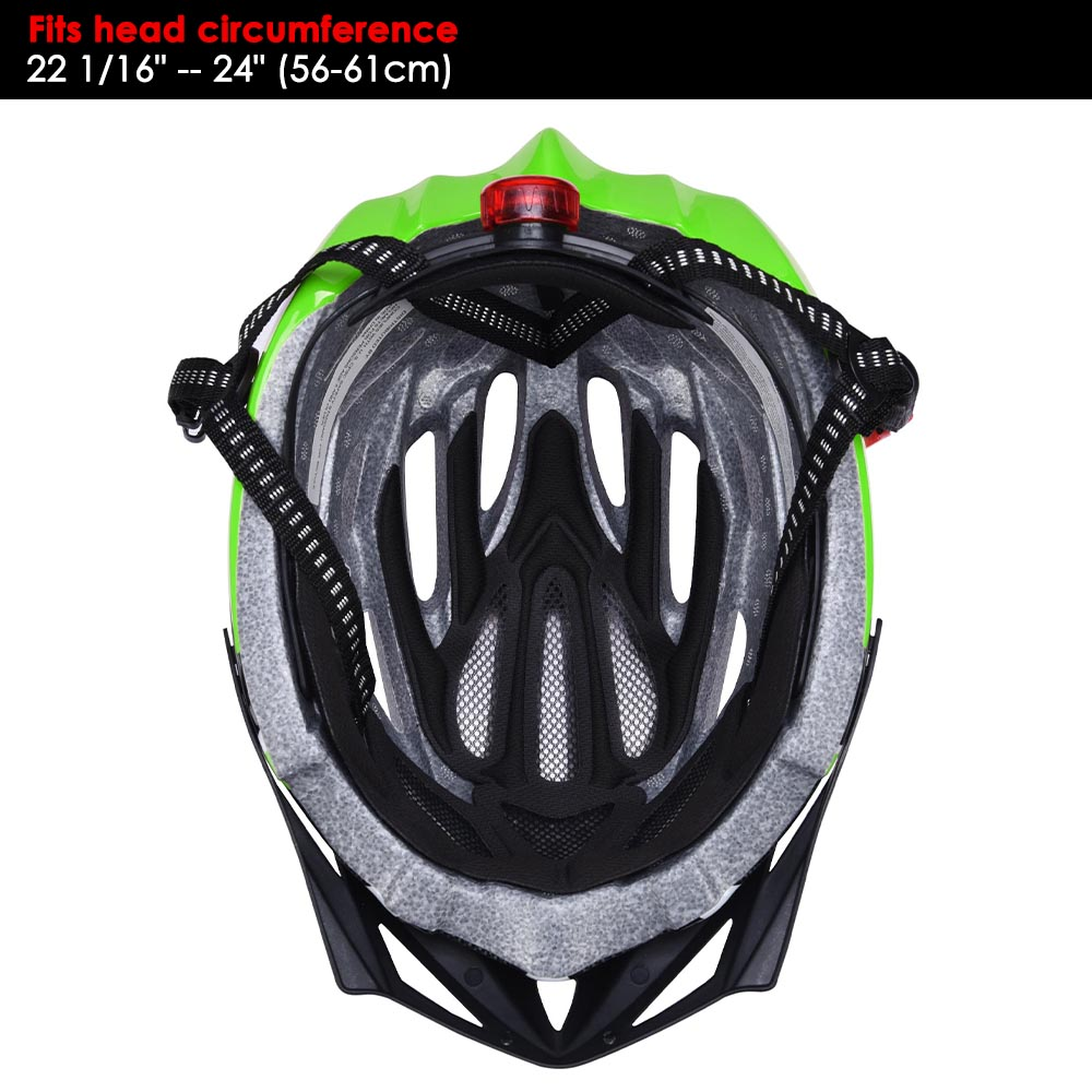 Bicycle-Helmet-Bike-Cycling-Adult-Adjustable-Safety-Helmet-Visor-LED-Light-Sport thumbnail 26