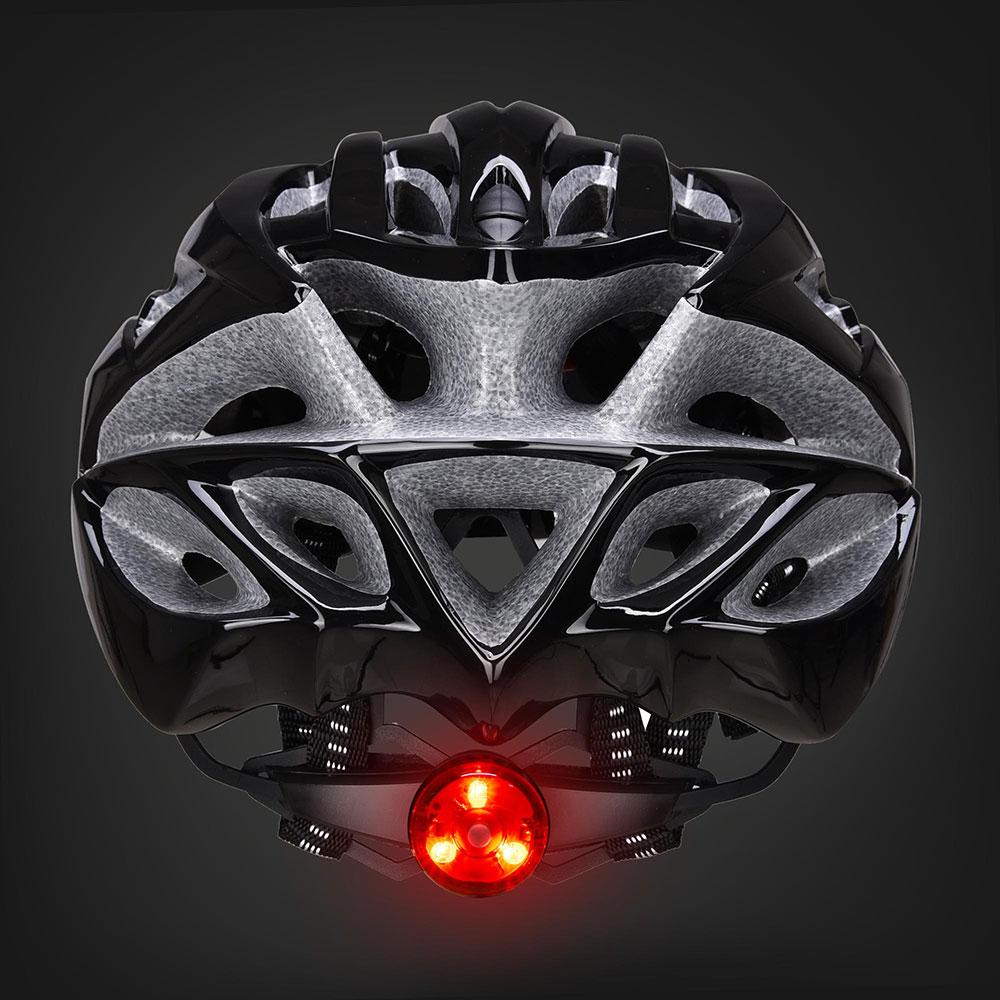Bicycle-Helmet-Bike-Cycling-Adult-Adjustable-Safety-Helmet-Visor-LED-Light-Sport thumbnail 11