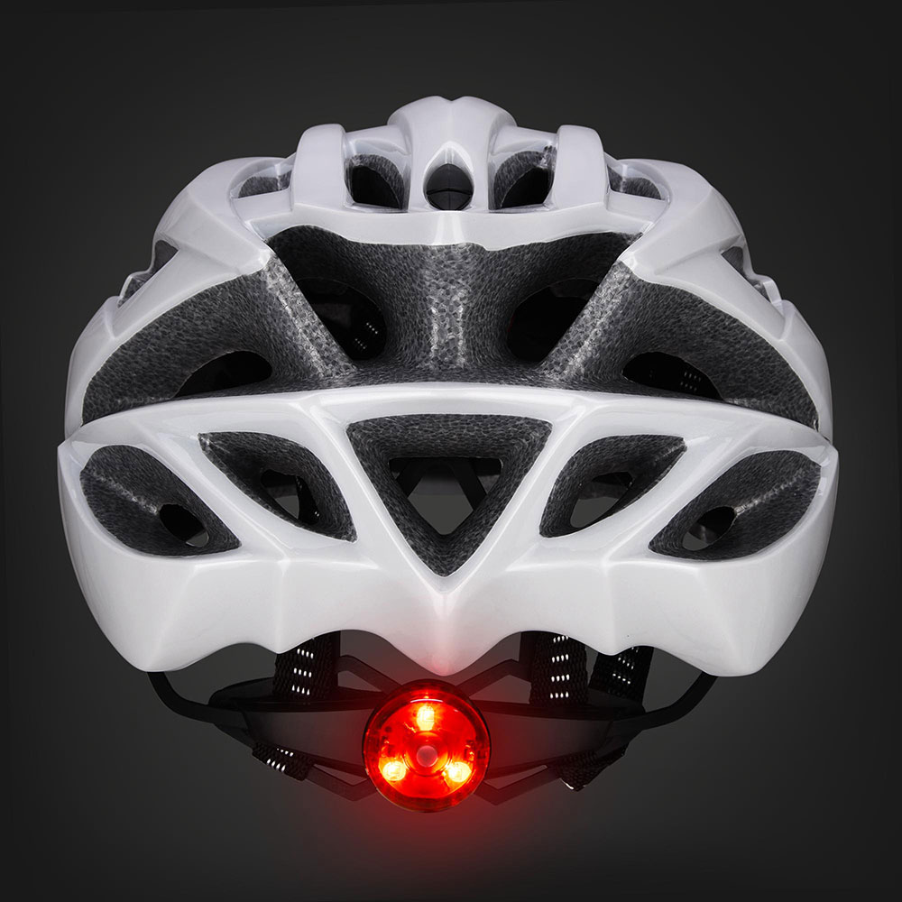 Bicycle-Helmet-Bike-Cycling-Adult-Adjustable-Safety-Helmet-Visor-LED-Light-Sport thumbnail 74