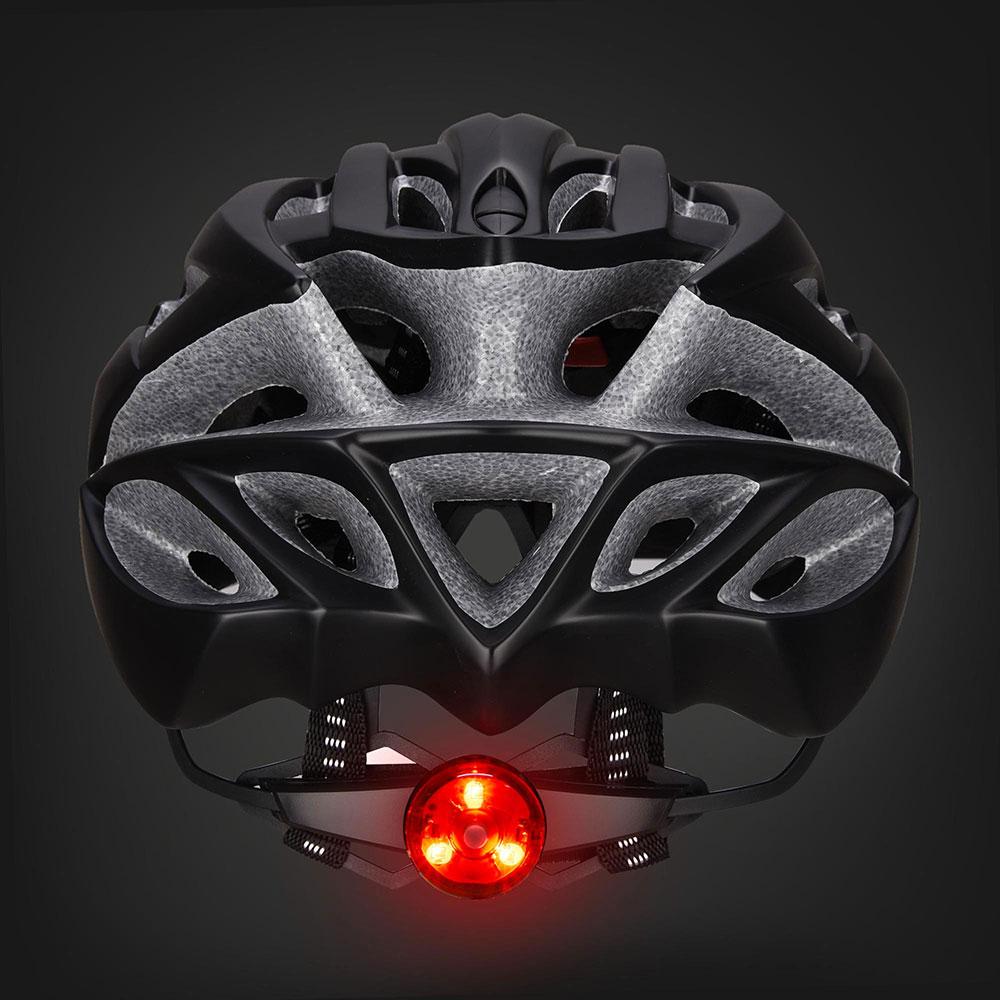 Bicycle-Helmet-Bike-Cycling-Adult-Adjustable-Safety-Helmet-Visor-LED-Light-Sport thumbnail 65