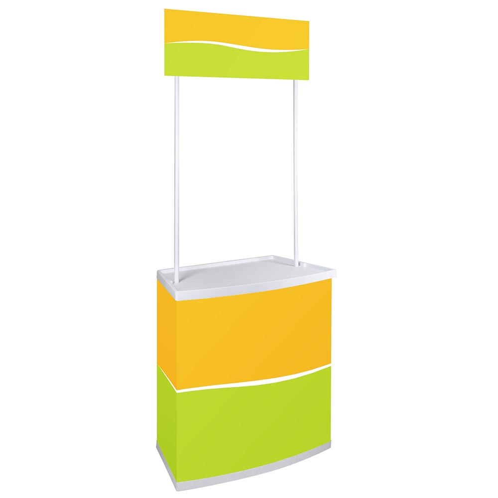 Portable Promotion Counter Table Booth Kiosk Trade Show Display ...