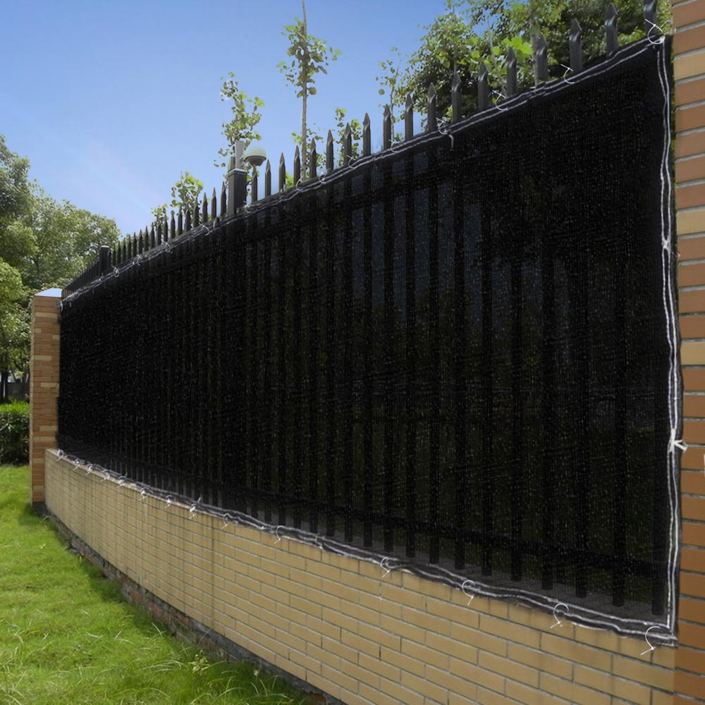 4 39 6 39 heigh fence privacy wind screen mesh windscreen for Garden screening fabric