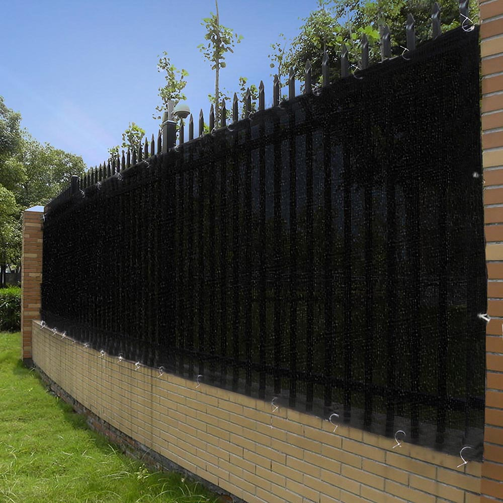 Fit 4' 6' Fence Windscreen With Zip Ties Privacy Screen