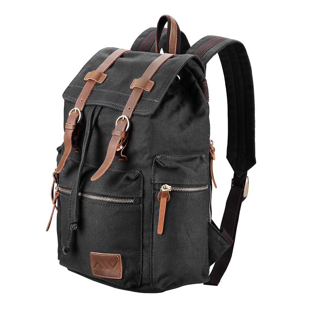 Travel-Canvas-Sport-Backpack-Rucksack-School-Satchel-Laptop-Camping-Hiking-Bag thumbnail 3