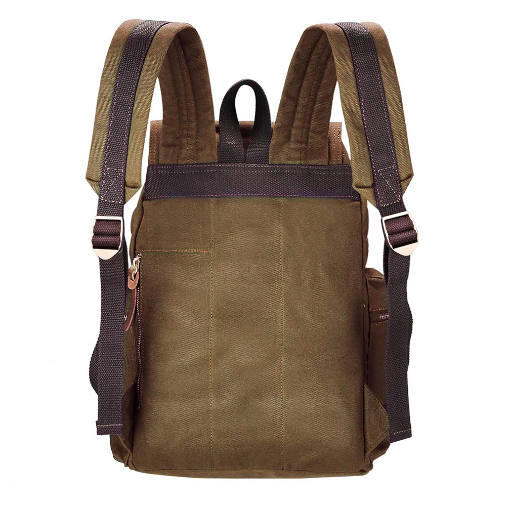 Travel-Canvas-Sport-Backpack-Rucksack-School-Satchel-Laptop-Camping-Hiking-Bag thumbnail 11
