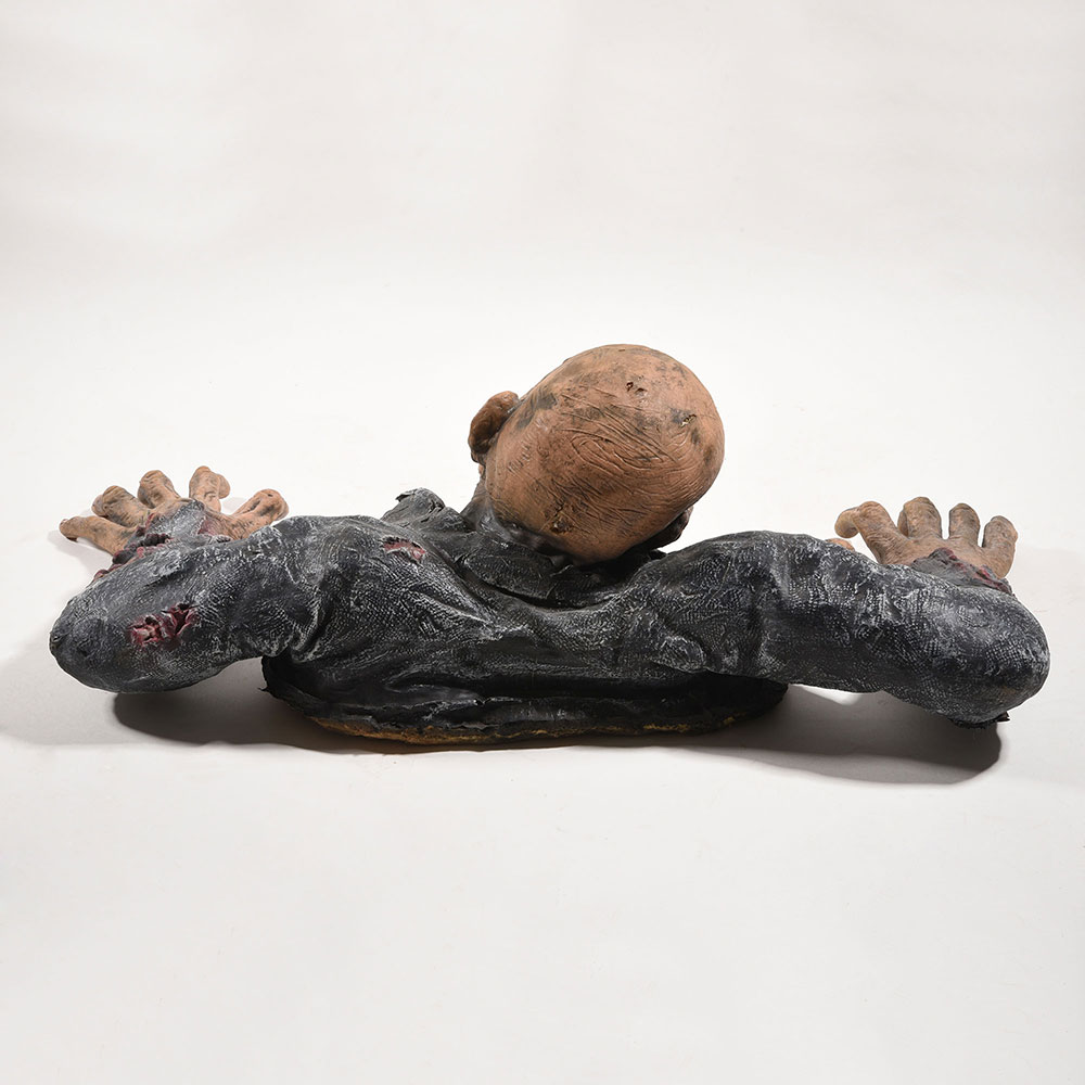 Halloween-Horror-Haunted-House-Decoration-Skull-Prop-Grovelling-Zombie-Ghost thumbnail 49