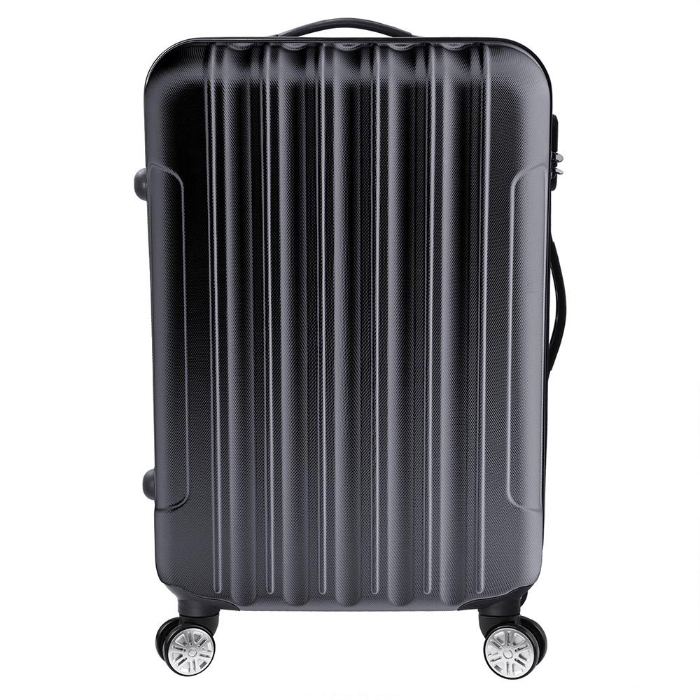 3-Piece-Travel-Luggage-Set-Fashion-Hardside-360-Rolling-Suitcase-20-034-24-034-28-034 thumbnail 4