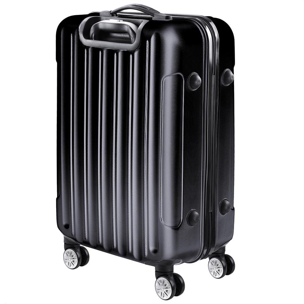 3-Piece-Travel-Luggage-Set-Fashion-Hardside-360-Rolling-Suitcase-20-034-24-034-28-034 thumbnail 5