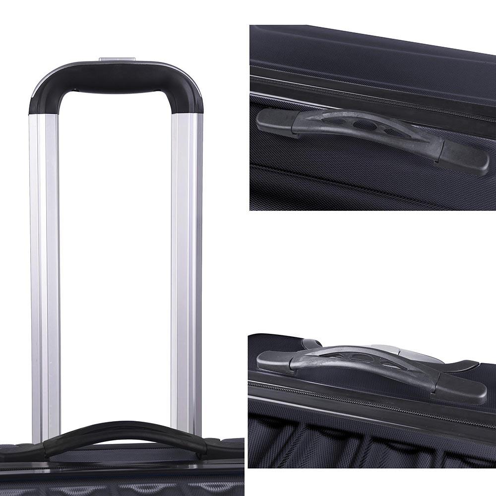 3-Piece-Travel-Luggage-Set-Fashion-Hardside-360-Rolling-Suitcase-20-034-24-034-28-034 thumbnail 8