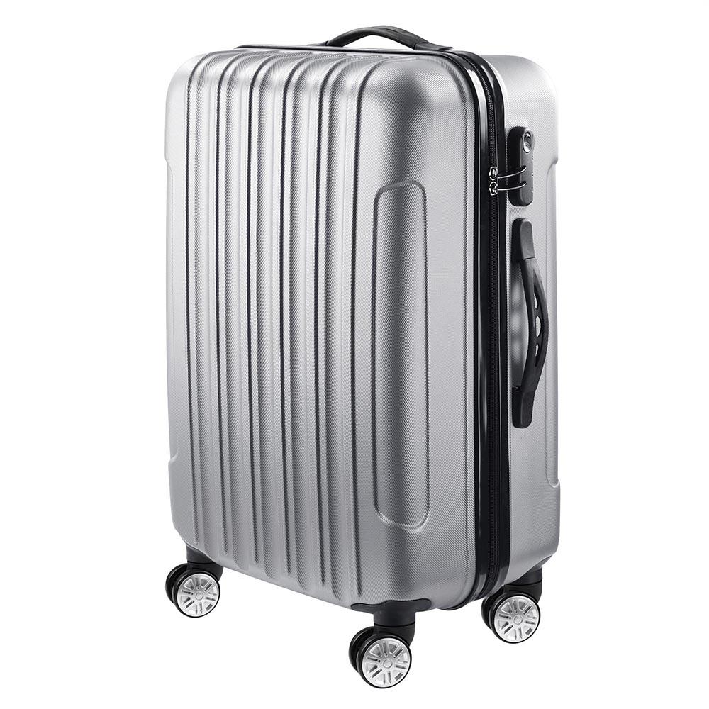 3-Piece-Travel-Luggage-Set-Fashion-Hardside-360-Rolling-Suitcase-20-034-24-034-28-034 thumbnail 21