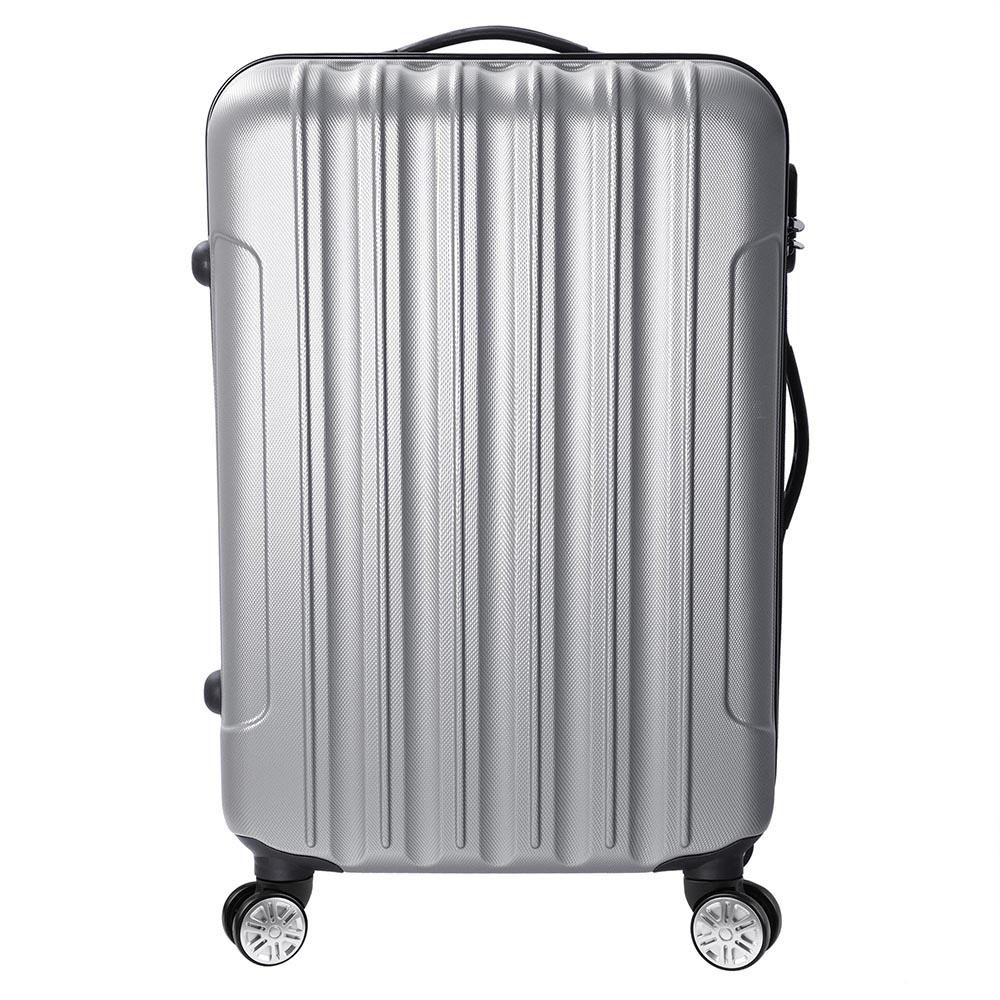 3-Piece-Travel-Luggage-Set-Fashion-Hardside-360-Rolling-Suitcase-20-034-24-034-28-034 thumbnail 22
