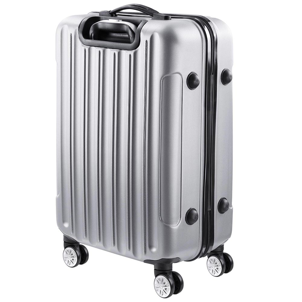 3-Piece-Travel-Luggage-Set-Fashion-Hardside-360-Rolling-Suitcase-20-034-24-034-28-034 thumbnail 23
