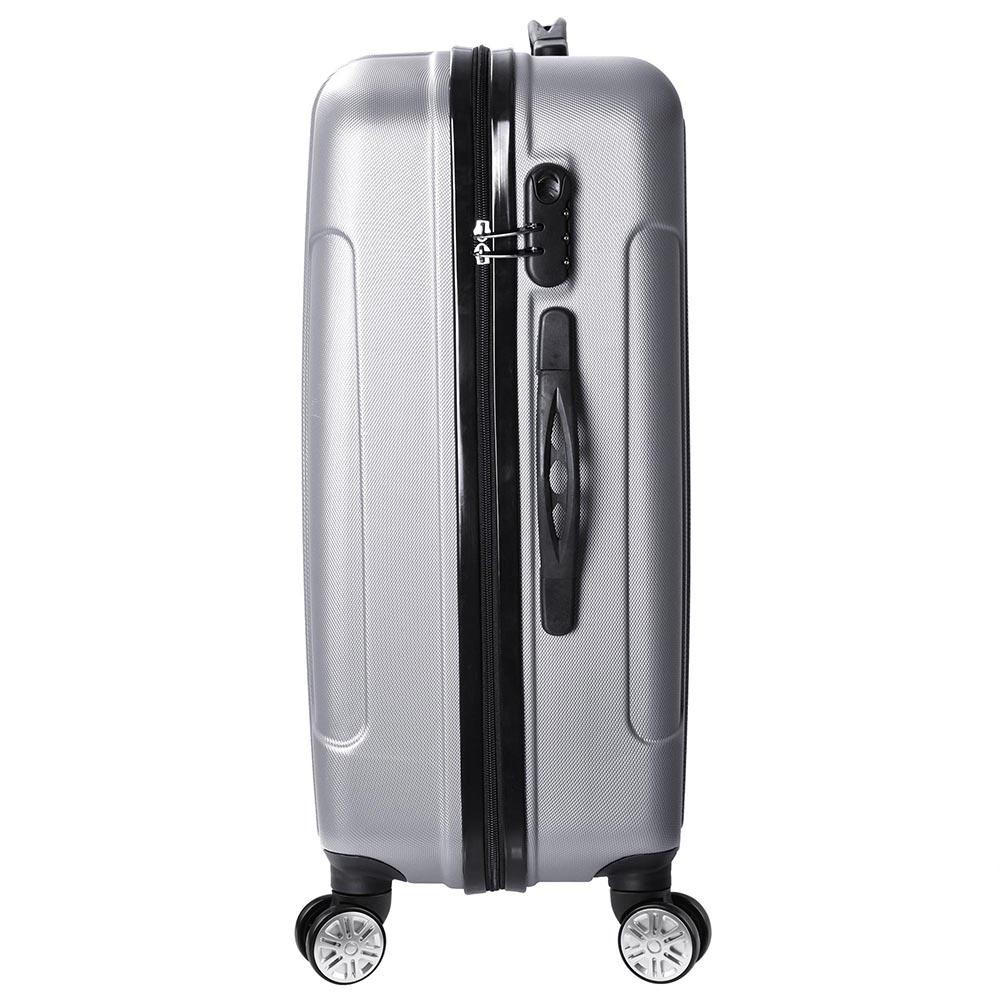 3-Piece-Travel-Luggage-Set-Fashion-Hardside-360-Rolling-Suitcase-20-034-24-034-28-034 thumbnail 24