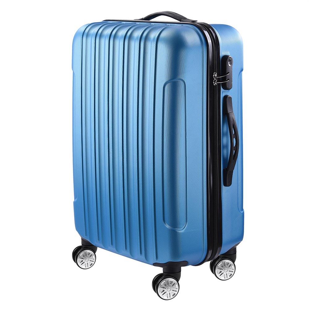 3-Piece-Travel-Luggage-Set-Fashion-Hardside-360-Rolling-Suitcase-20-034-24-034-28-034 thumbnail 12