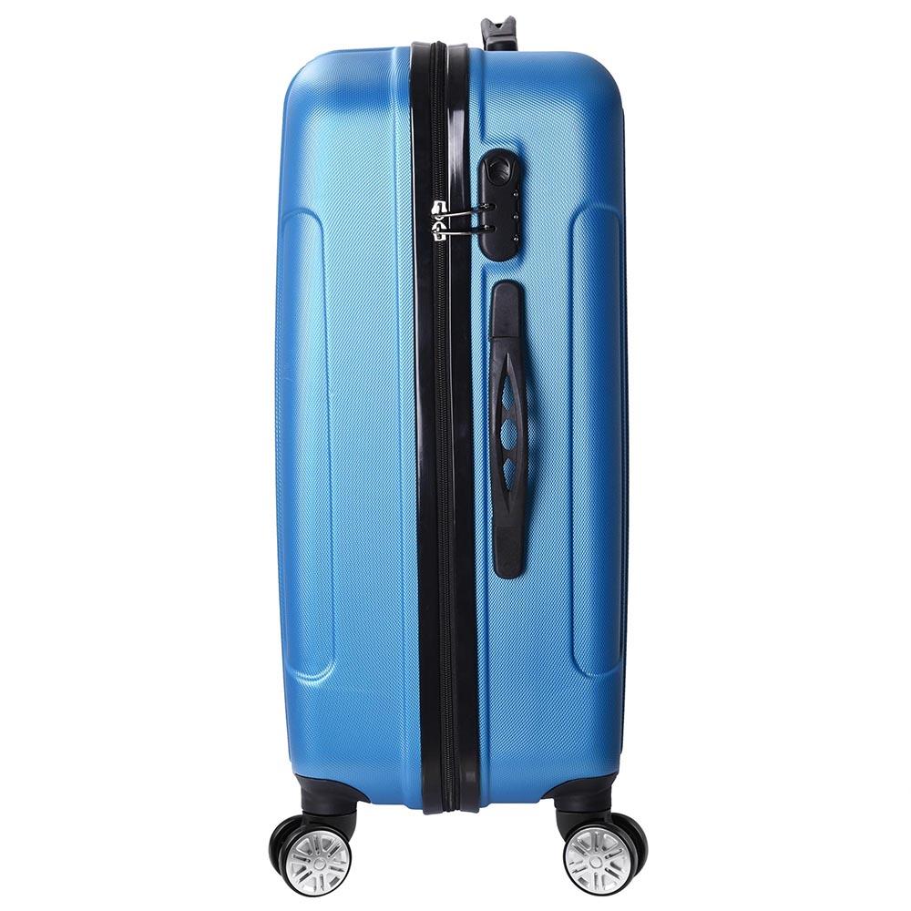 3-Piece-Travel-Luggage-Set-Fashion-Hardside-360-Rolling-Suitcase-20-034-24-034-28-034 thumbnail 15