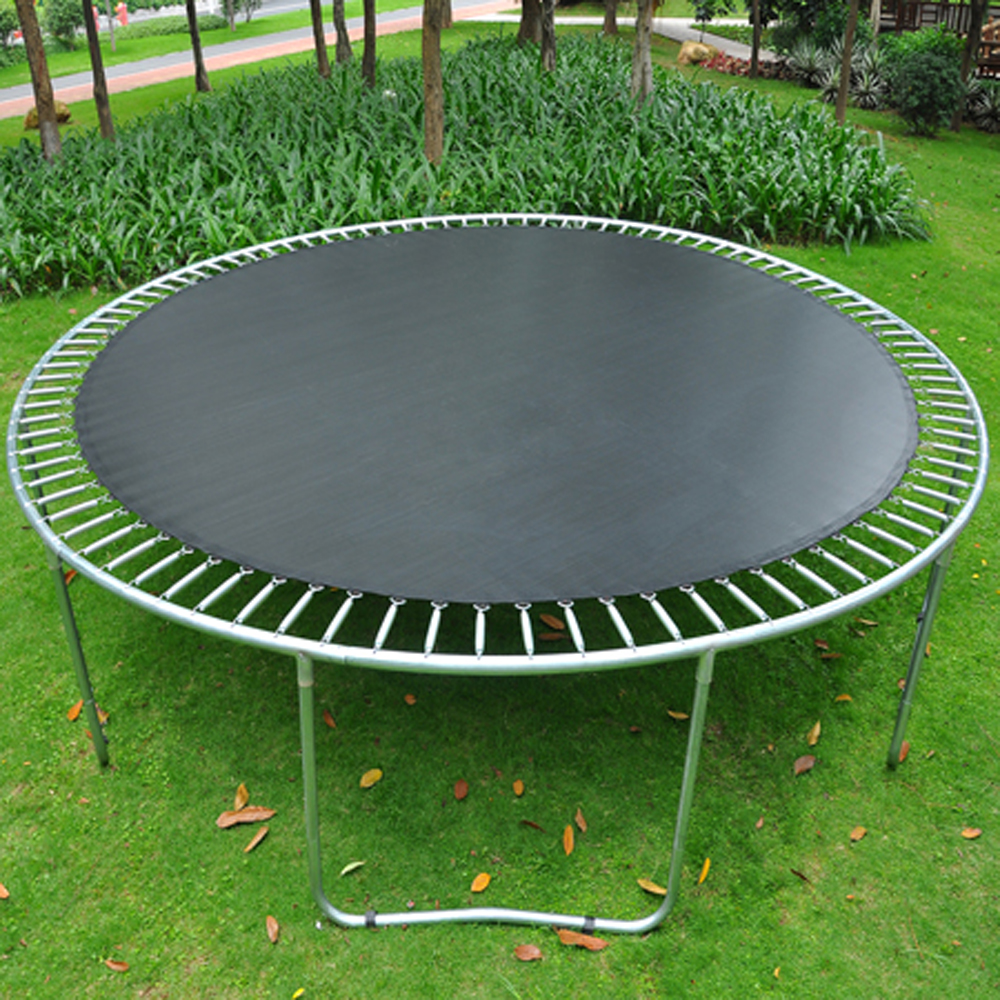 Zupapa Round 14ft Trampoline Frame Safety Enclosure Spring: 10 12 14ft Replacement Round Trampoline Mat Jumping Mat
