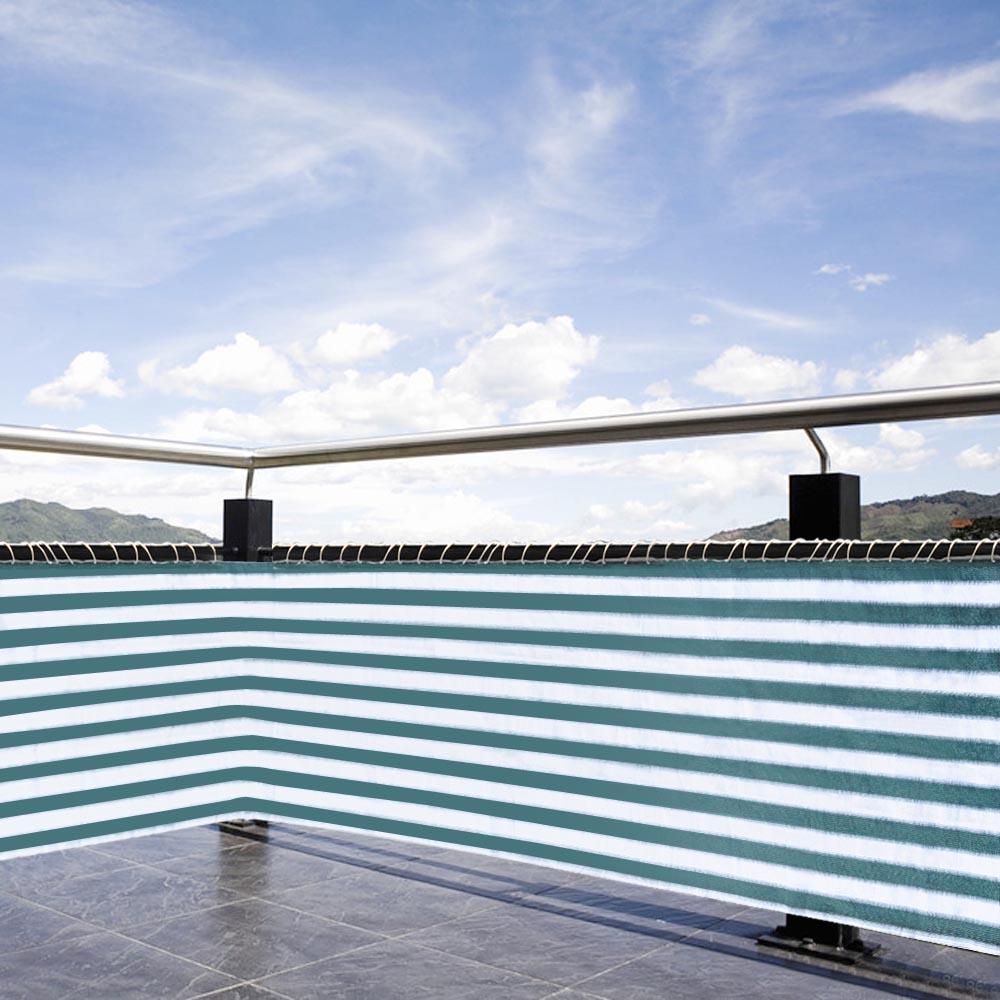 20 x 2 1 2ft sun shade net screen mesh netting balcony for Balcony covering nets