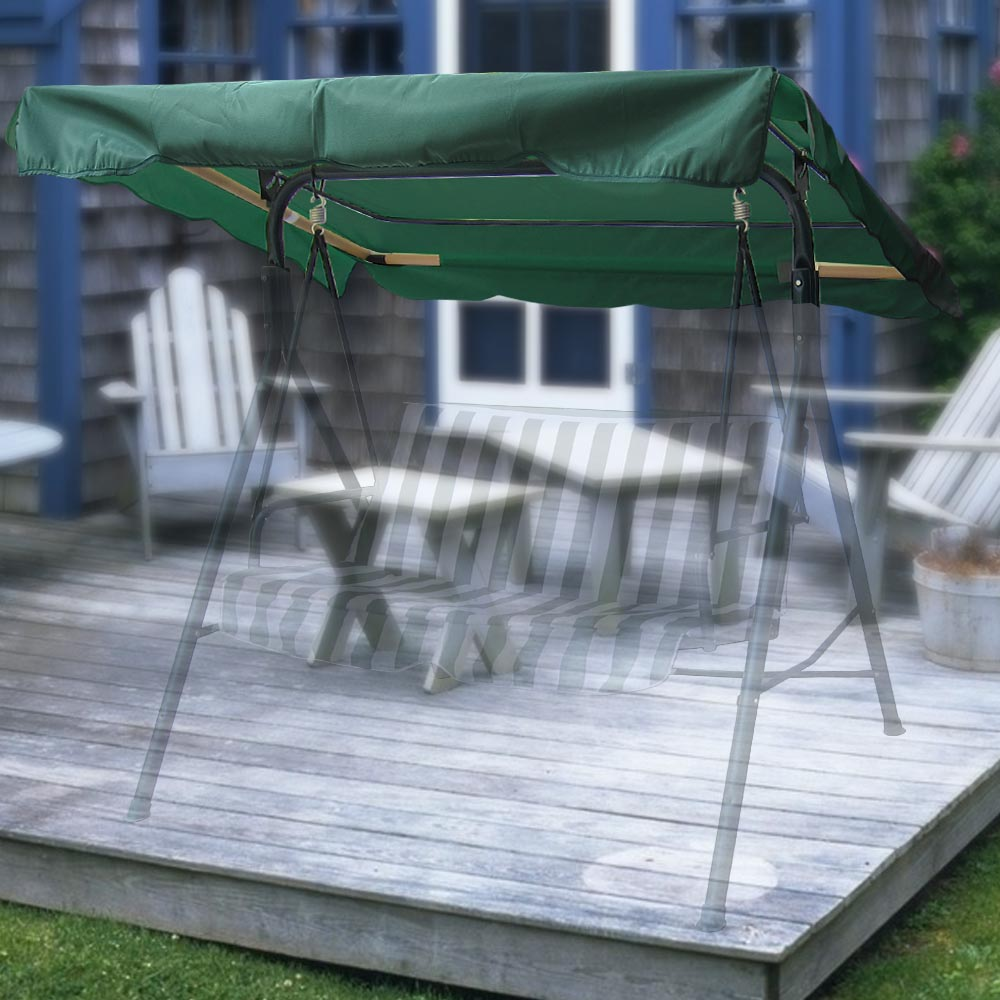 Outdoor Swing Canopy Top Replacement Patio Garden Seat