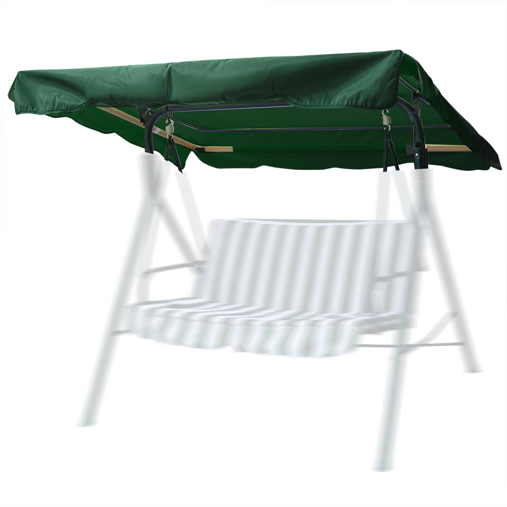 Swing Top Cover Canopy Replacement Porch Patio Outdoor Garden Seat