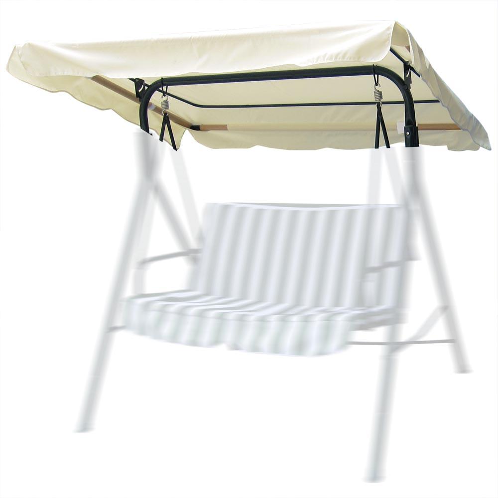 76 Quot X44 Quot Outdoor Swing Canopy Top Replacement Cover Garden