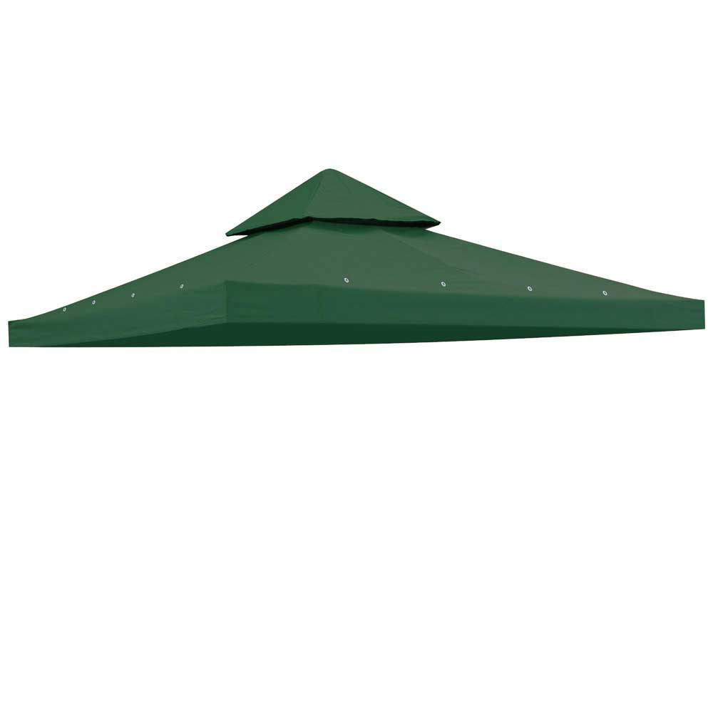 10-039-x10-039-Gazebo-Canopy-Top-Replacement-  sc 1 st  eBay & 10u0027x10u0027 Gazebo Canopy Top Replacement 2 Tier UV30 Patio Pavilion ...