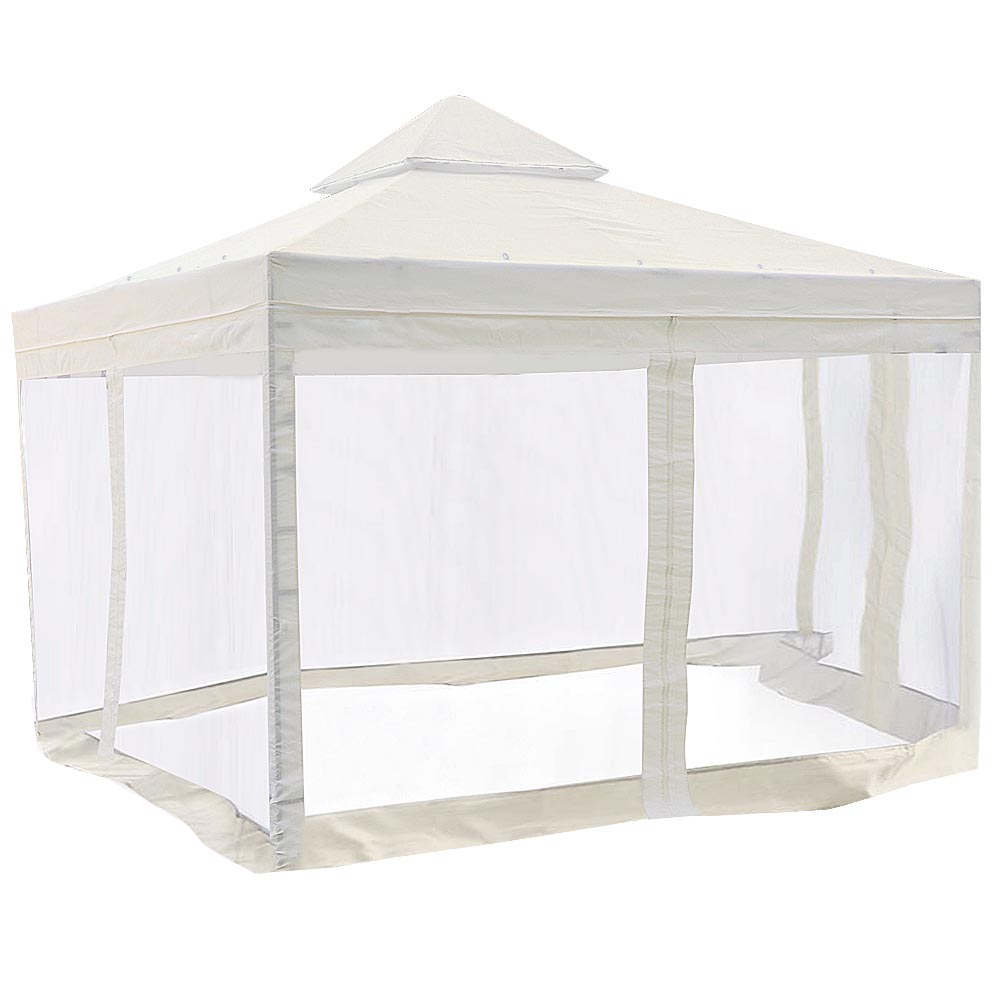 10x10 Gazebo Top Canopy Replacement Patio Pavilion Sunshade Cover