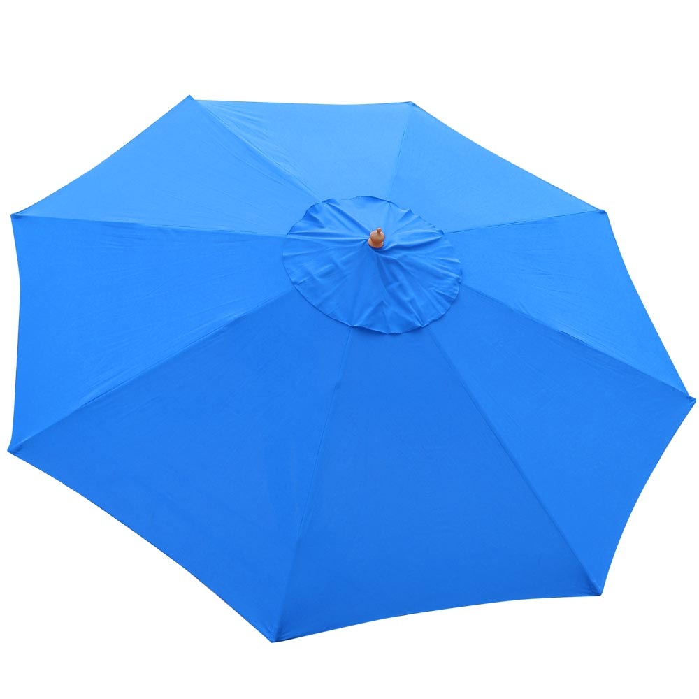8-039-9-039-13-039-Outdoor-Patio-Wood-Umbrella-Wooden-Pole-Market-Beach-Garden-Sun-Shade thumbnail 15