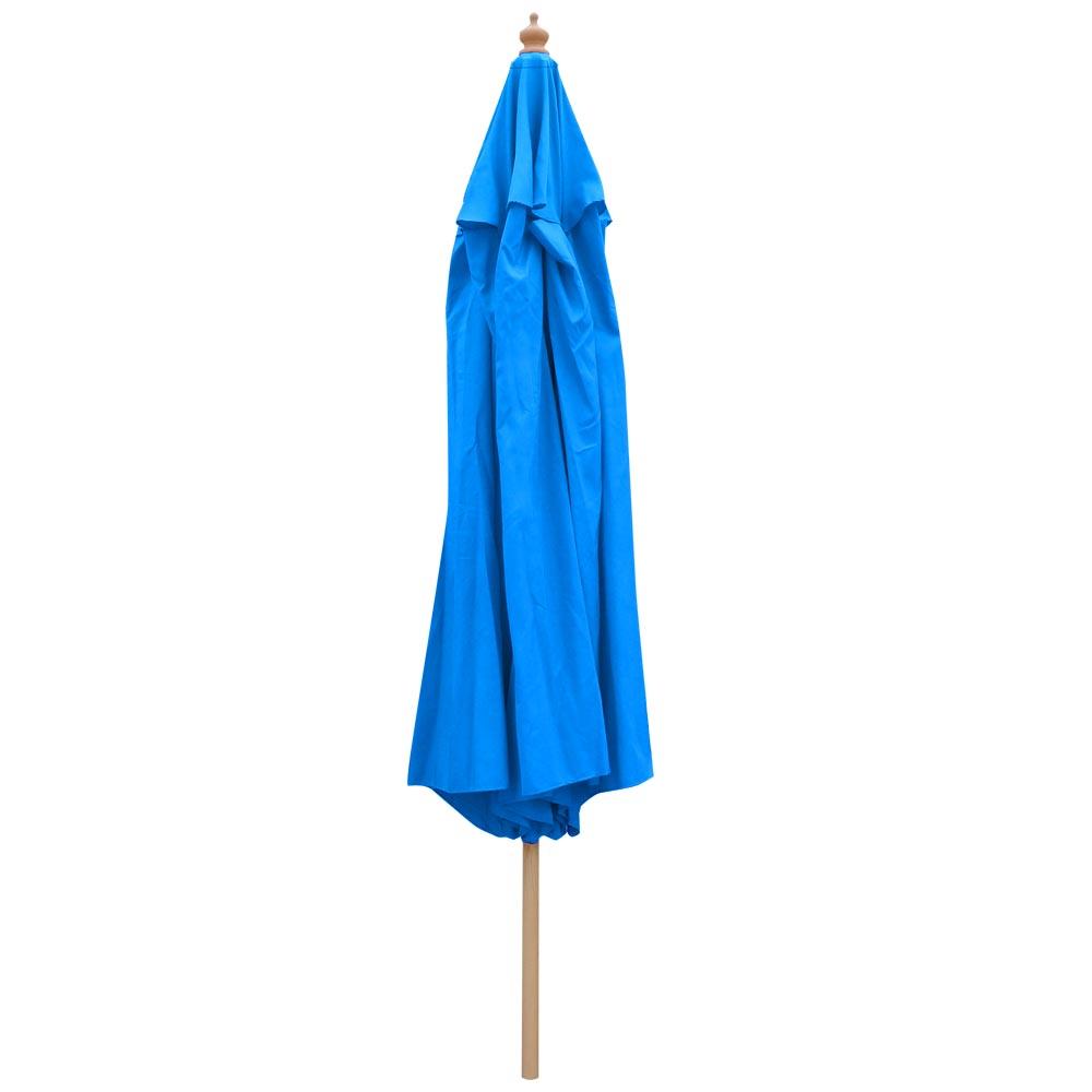 8-039-9-039-13-039-Outdoor-Patio-Wood-Umbrella-Wooden-Pole-Market-Beach-Garden-Sun-Shade thumbnail 19
