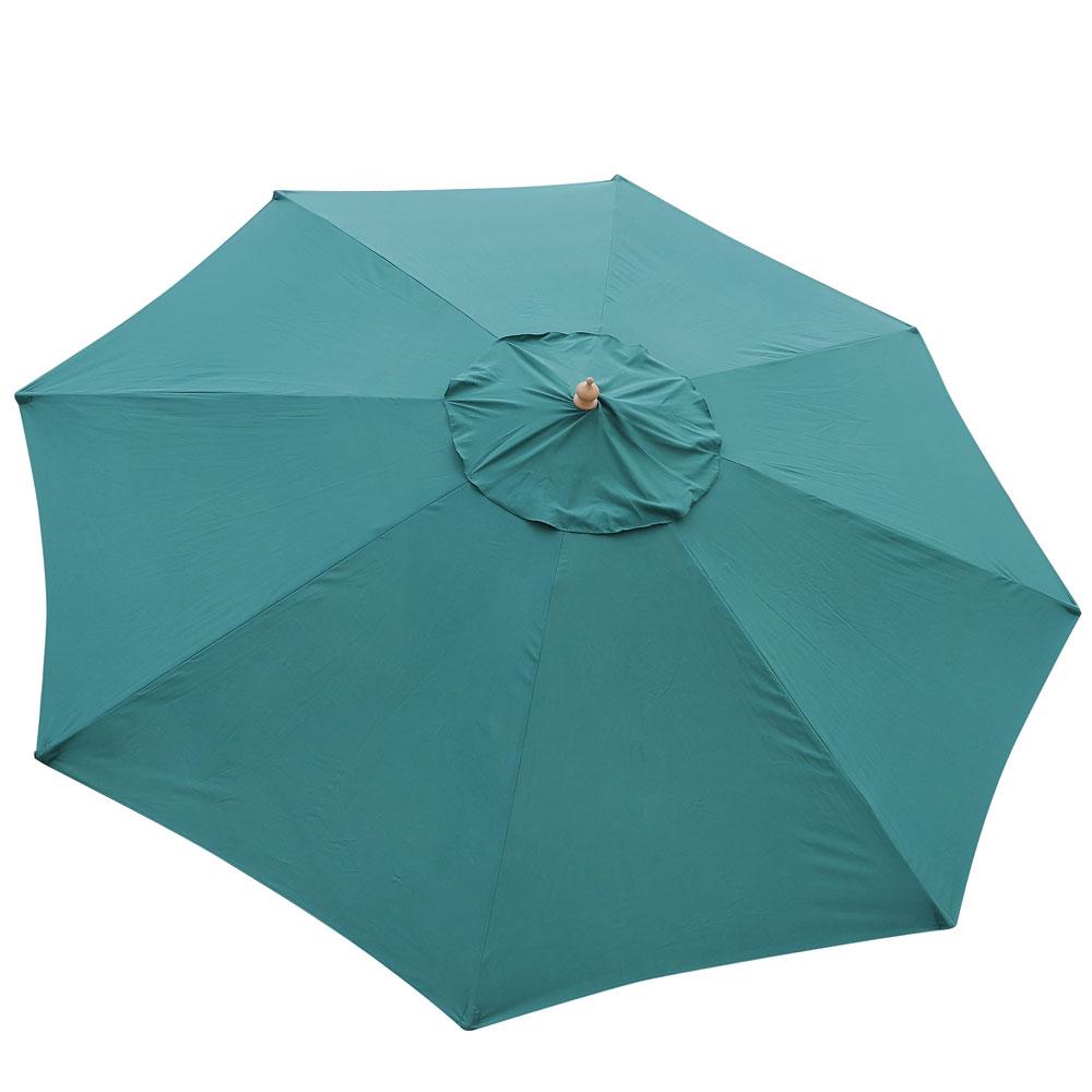 8-039-9-039-13-039-Outdoor-Patio-Wood-Umbrella-Wooden-Pole-Market-Beach-Garden-Sun-Shade thumbnail 26