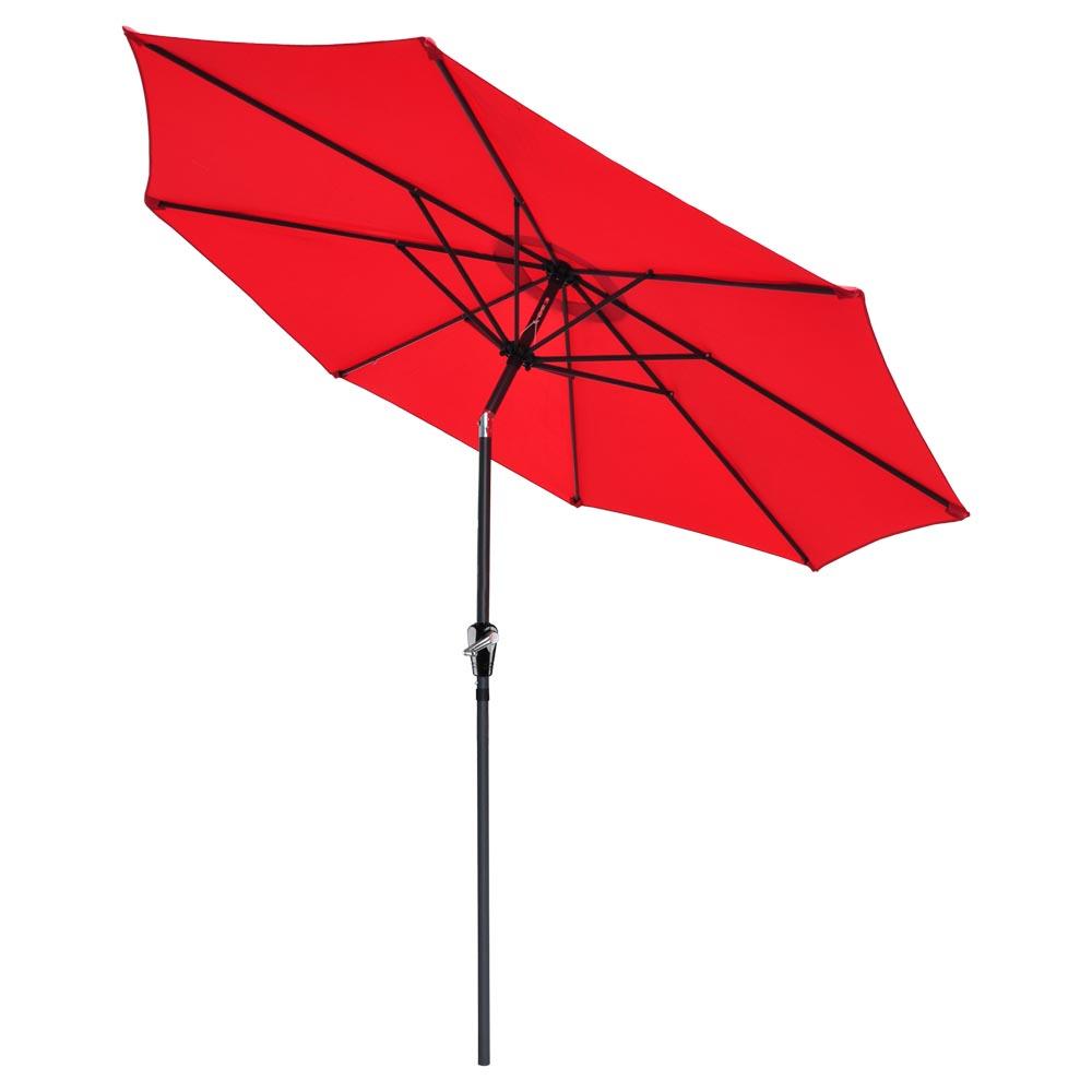 Outdoor-Patio-Umbrella-Aluminum-8ft-9ft-10ft-13ft-Common-LED-Option-Beach-Garden thumbnail 221