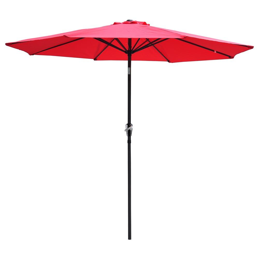 9ft-8-Ribs-Outdoor-Patio-Umbrella-Crank-Tilt-Market-Yard-Beach-Sunshade-UV-Block thumbnail 50