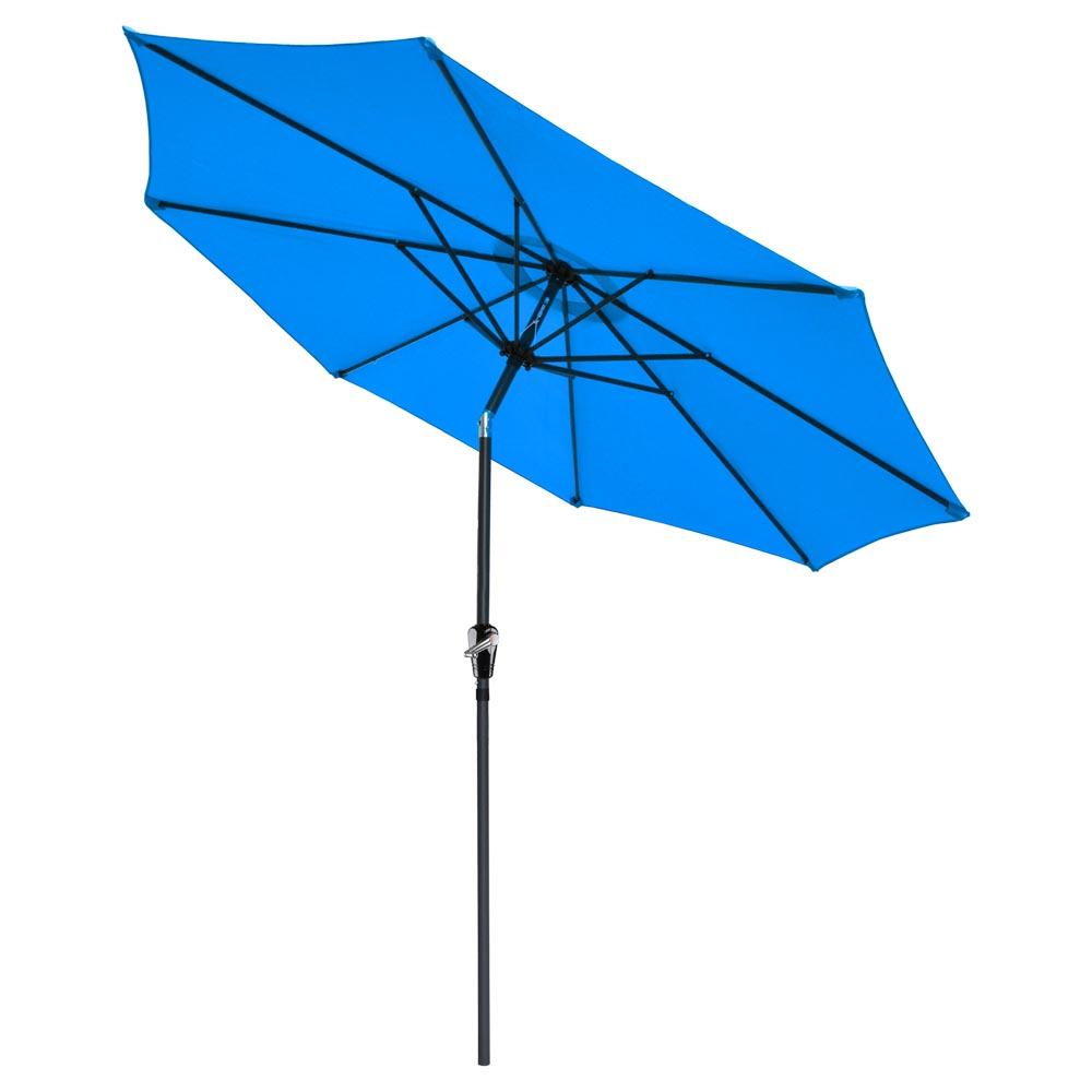Outdoor-Patio-Umbrella-Aluminum-8ft-9ft-10ft-13ft-Common-LED-Option-Beach-Garden thumbnail 177