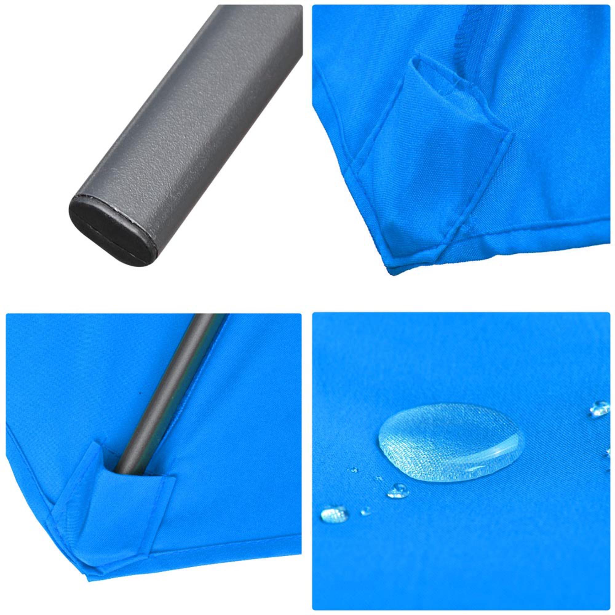 thumbnail 55 - 9' Outdoor Umbrella Patio 8 Ribs Market Garden Crank Tilt Beach Sunshade Parasol