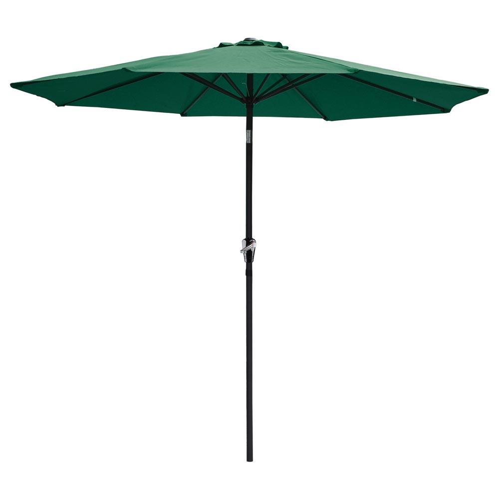 9ft-8-Ribs-Outdoor-Patio-Umbrella-Crank-Tilt-Market-Yard-Beach-Sunshade-UV-Block thumbnail 37