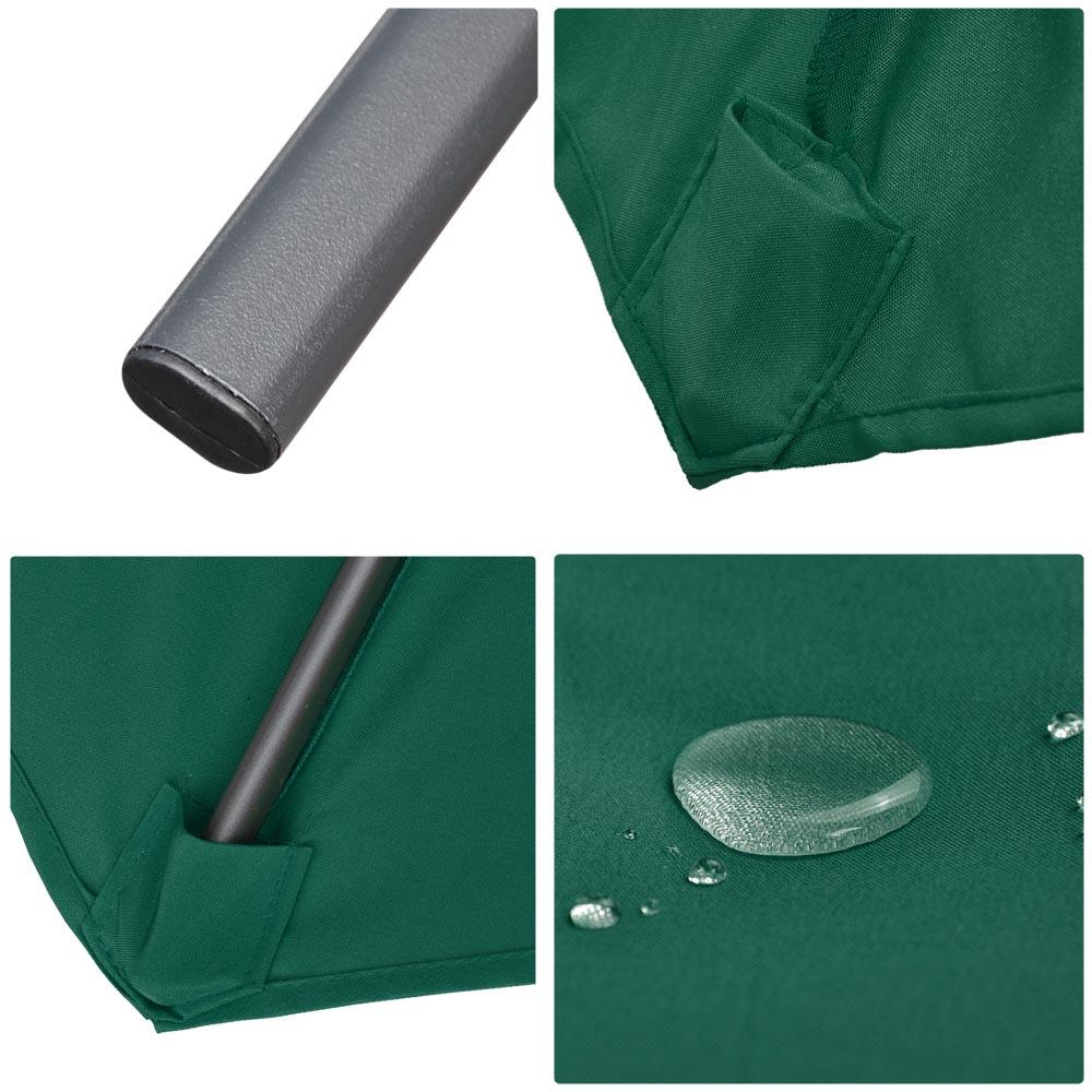 9ft-8-Ribs-Outdoor-Patio-Umbrella-Crank-Tilt-Market-Yard-Beach-Sunshade-UV-Block thumbnail 38