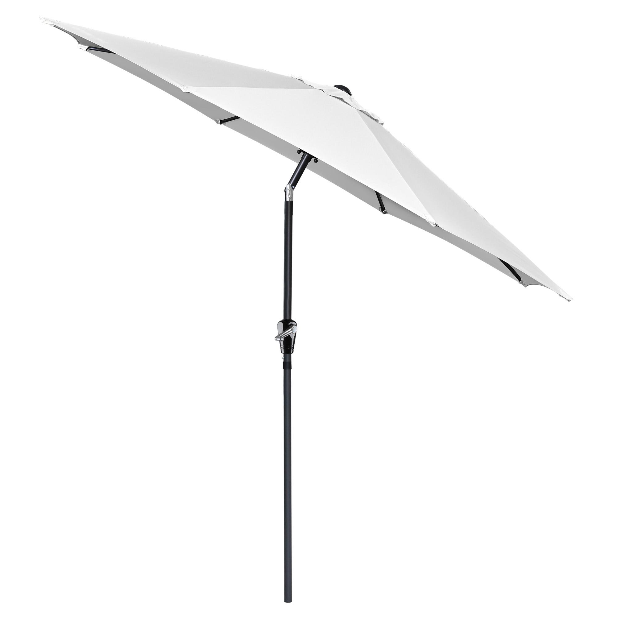 thumbnail 120 - 9' Outdoor Umbrella Patio 8 Ribs Market Garden Crank Tilt Beach Sunshade Parasol