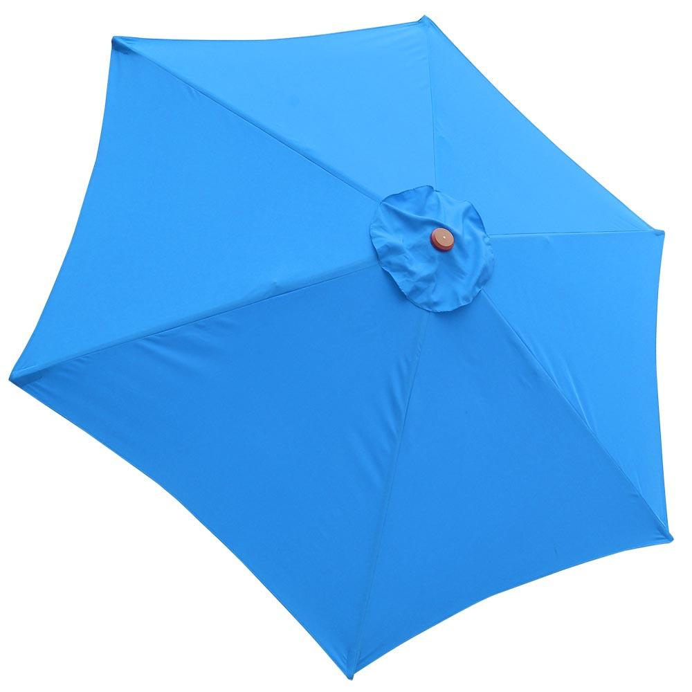 8-039-9-039-13-039-Outdoor-Patio-Wood-Umbrella-Wooden-Pole-Market-Beach-Garden-Sun-Shade thumbnail 45