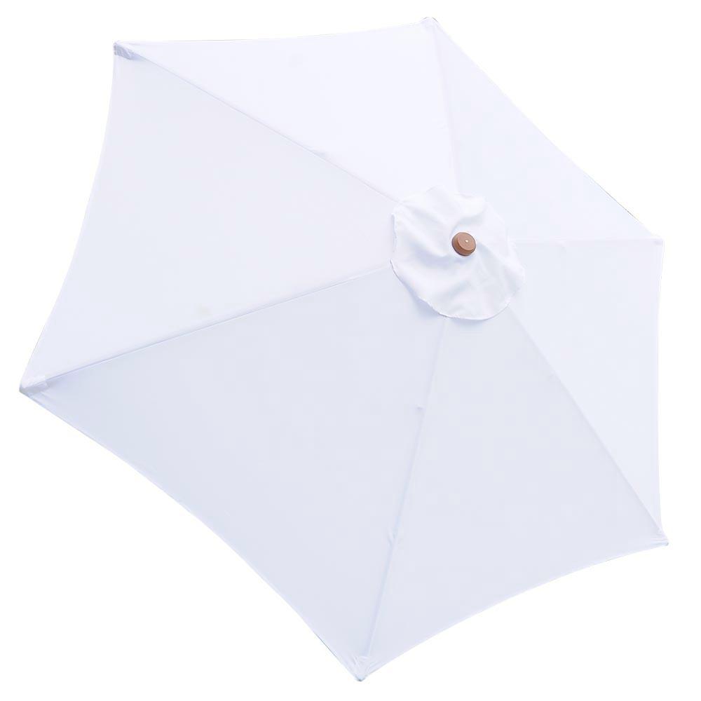 8-039-9-039-13-039-Outdoor-Patio-Wood-Umbrella-Wooden-Pole-Market-Beach-Garden-Sun-Shade thumbnail 77