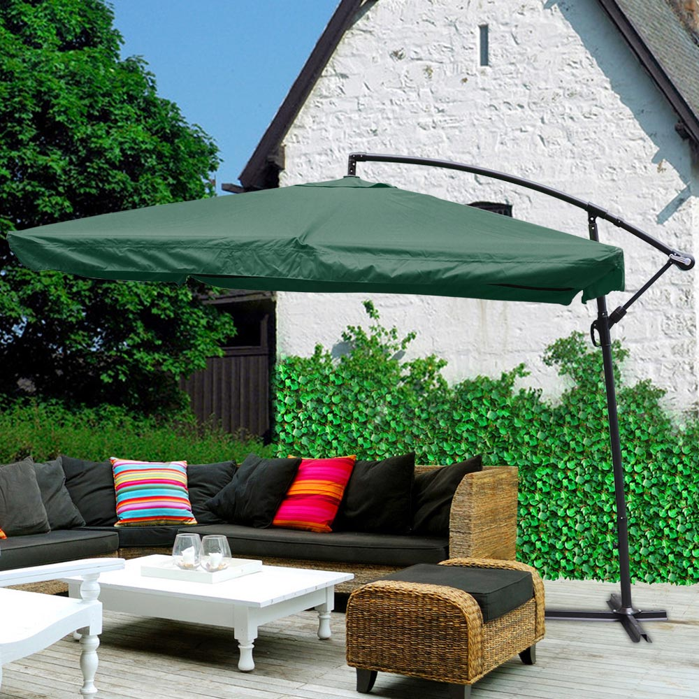 umbrella patio with offset umbrellas of rotating coast coral fresh ft square tilt fset