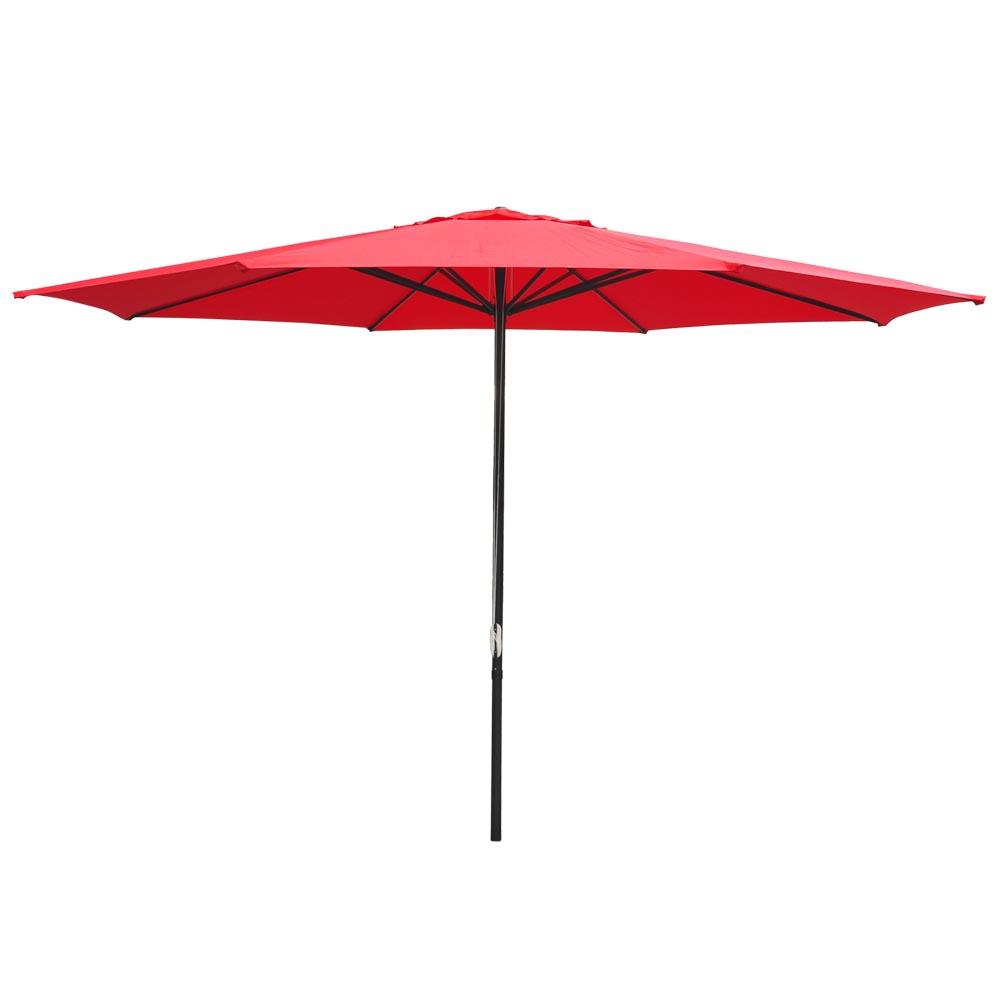 13 Ft Sun Shade Patio Aluminum Umbrella Uv30 Outdoor