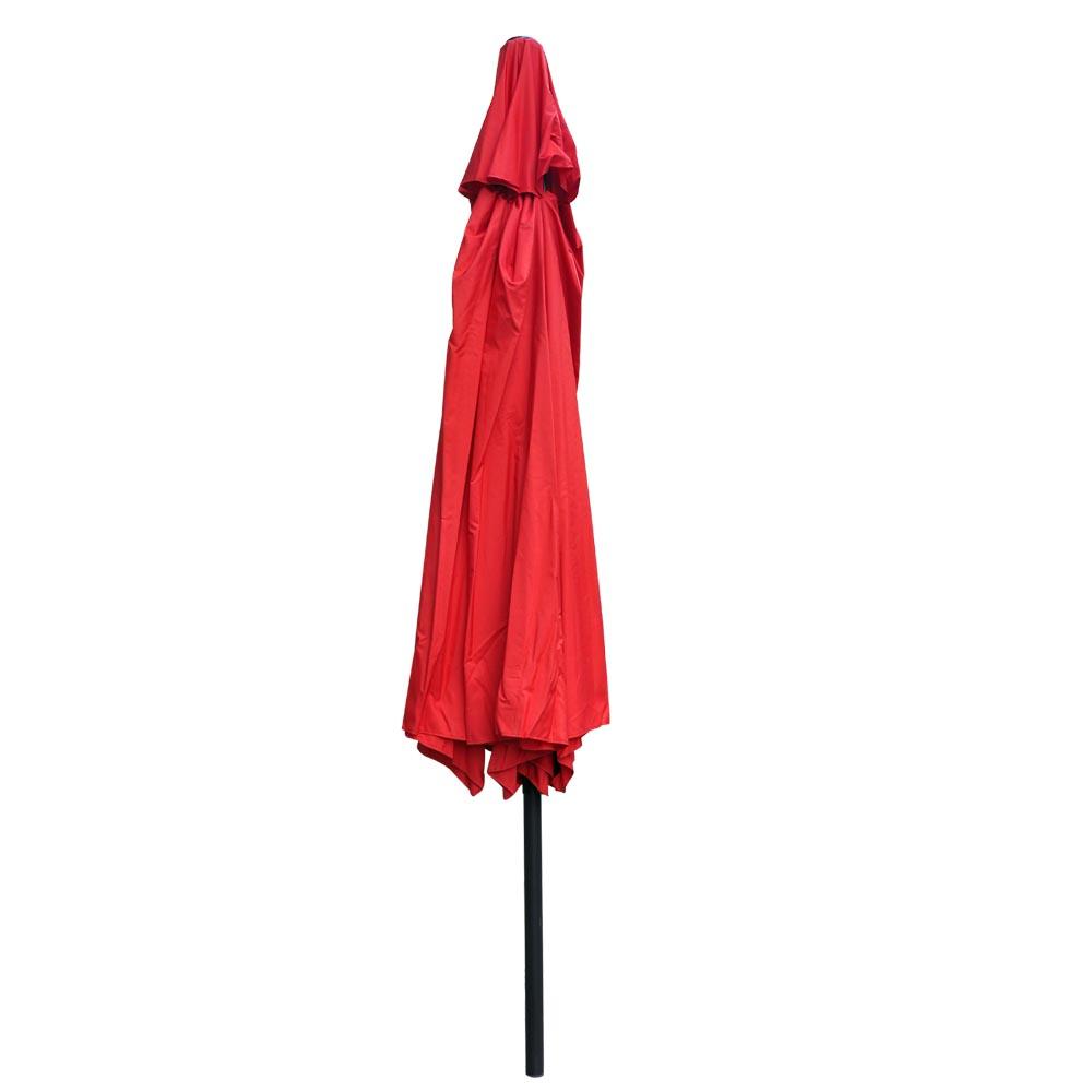 Outdoor-Patio-Umbrella-Aluminum-8ft-9ft-10ft-13ft-Common-LED-Option-Beach-Garden thumbnail 120