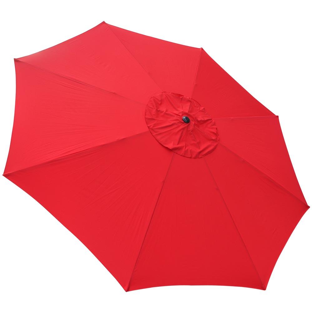 Outdoor-Patio-Umbrella-Aluminum-8ft-9ft-10ft-13ft-Common-LED-Option-Beach-Garden thumbnail 118