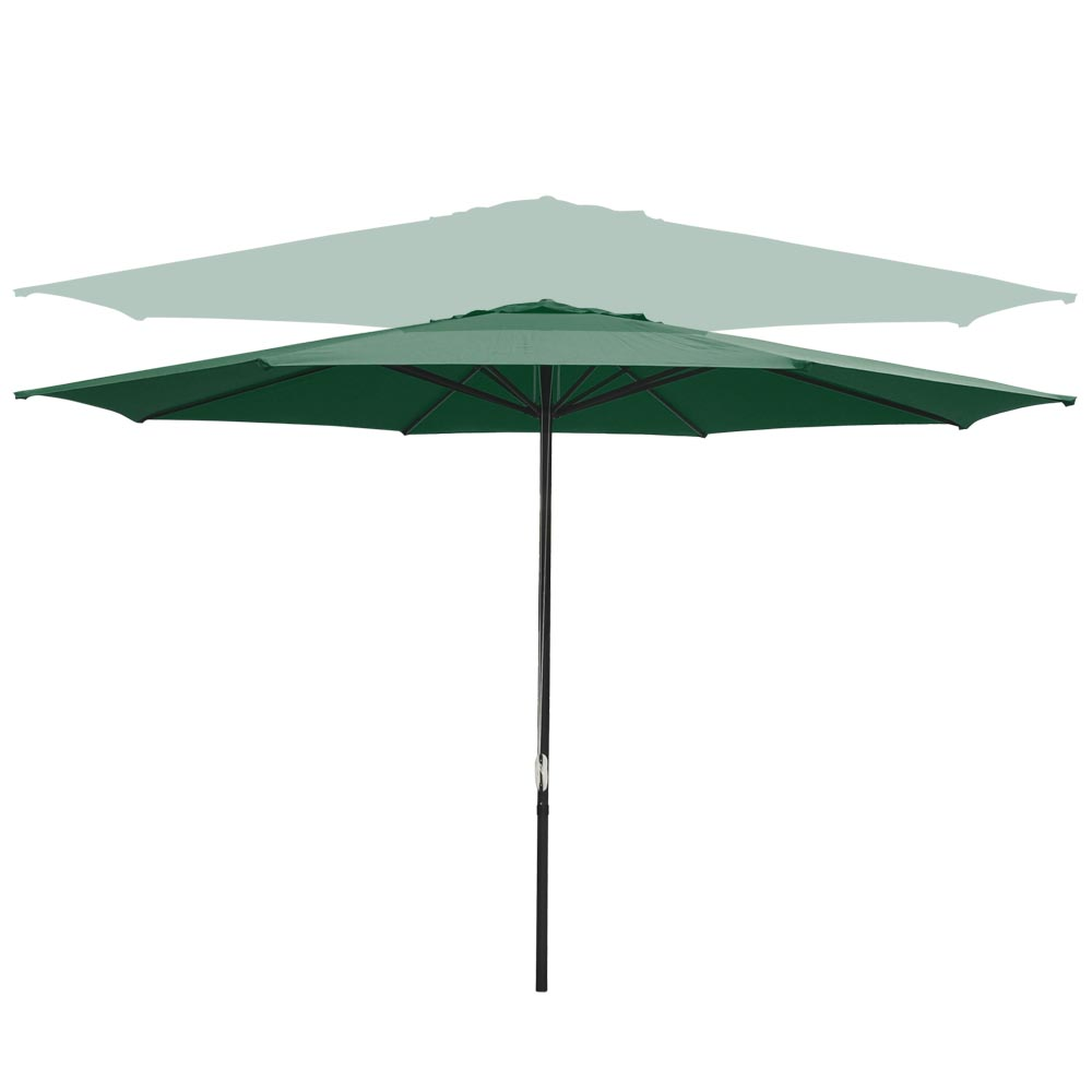Outdoor-Patio-Umbrella-Aluminum-8ft-9ft-10ft-13ft-Common-LED-Option-Beach-Garden thumbnail 110